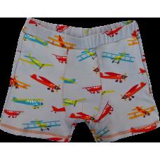 Boxerky barevná letadla na šedé jednostranné