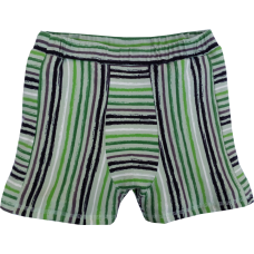 Boxerky zelenočerný proužek