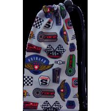 Textilní obal závodní loga