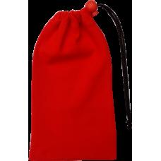 Textilní obal červený